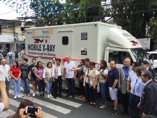 フィリピン、マニラにレントゲン車を寄贈しに行ってきました